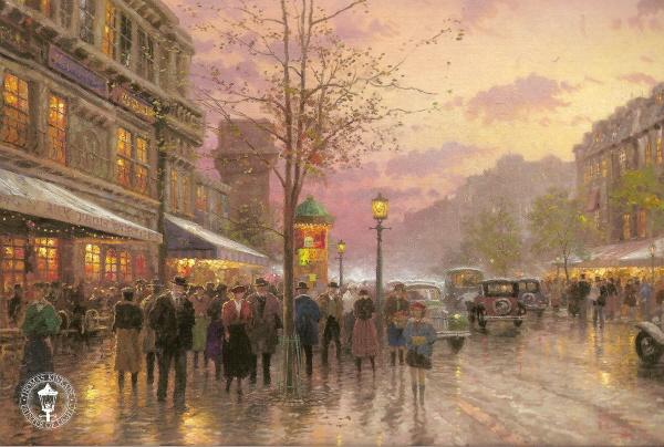 Boulevard Lights, Paris