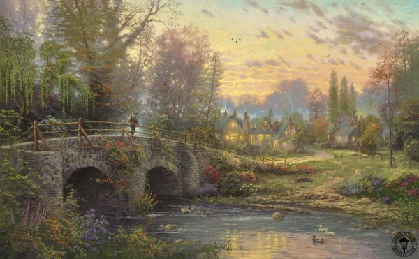 Cobblestone Evening