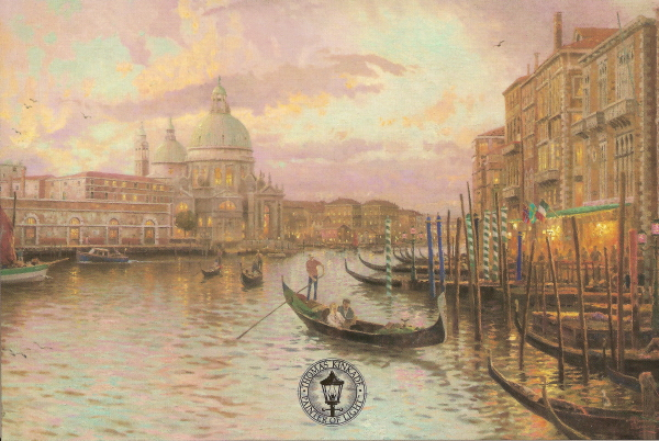Venice, Sunset on the Grand Canal