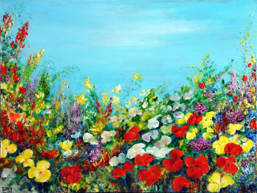 spring_in_the_garden_by_artbyteresa-d4t16vl