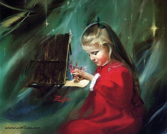 39457149_painting_children_childhood_kjb_DonaldZolan_17LaurieandtheCreche_sm