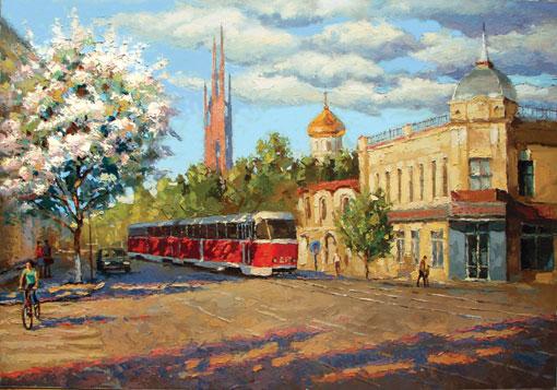 Санкт-Петербург на картинах Дмитрия Спироса.