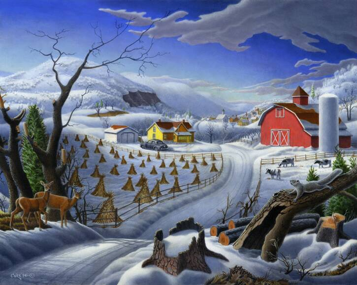 Rural-Winter-Landscape_Folk-Art_Magic_Realism-Oil-Painting_op_725x580