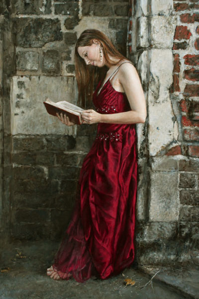 painting_woman_red_dress
