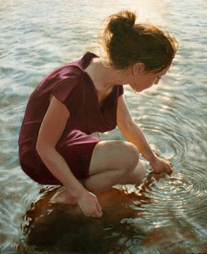 schilderij_reflectie_water
