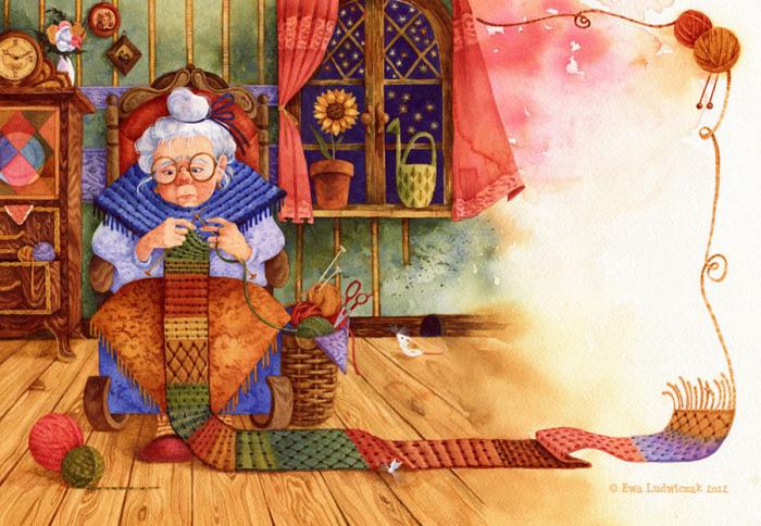Милые иллюстрации Ewa Ludwiczak