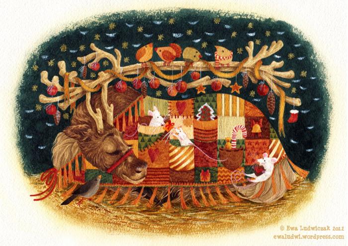 ewa-ludwiczak-sleeping-reindeer