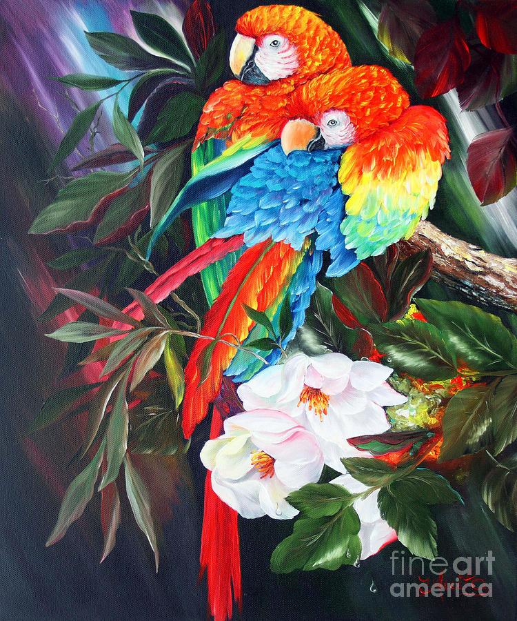 a-couple-of-parrots-ilona-anita-tigges-goetze