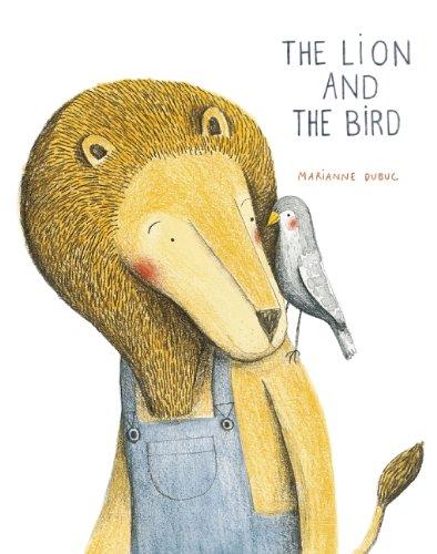 Сказка для детей «Лев и птичка» с удивительными иллюстрациями