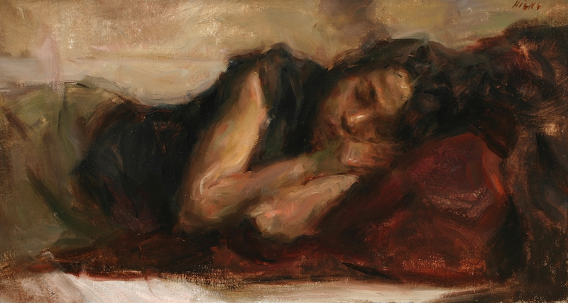 Ron Hicks 1965  - American Impressionist painter - Tutt'Art@ (2)