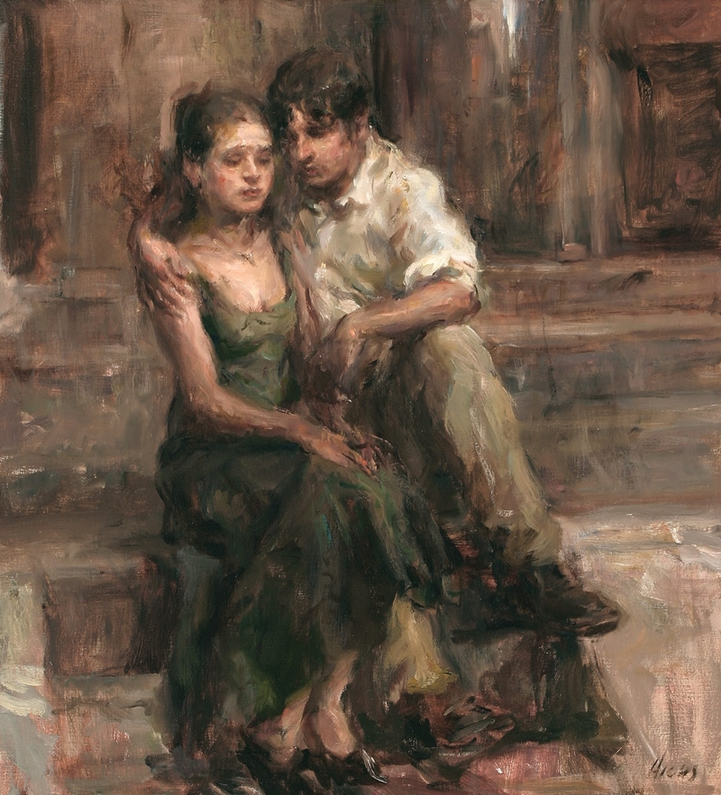 Ron Hicks 1965  - American Impressionist painter - Tutt'Art@ (8)