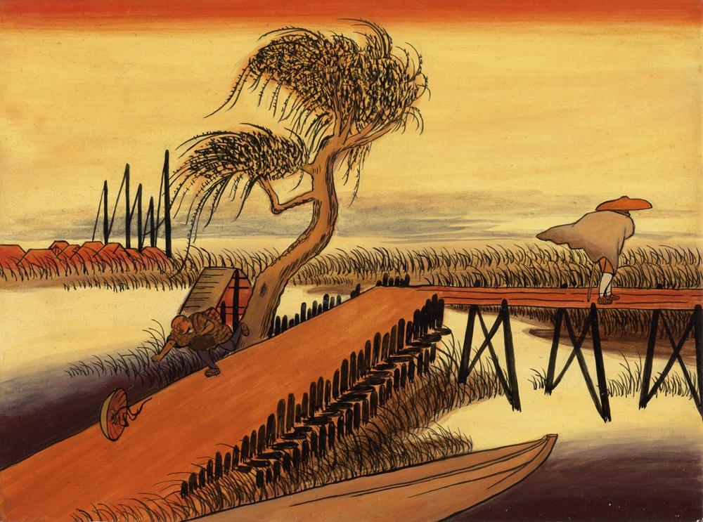 Пейзажная живопись фукэйга в японском изобразительном искусстве
