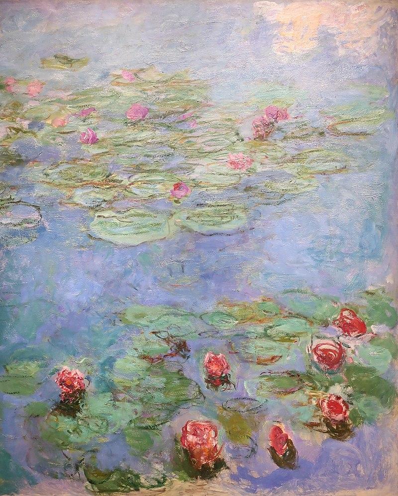Сад на картинах Клода Моне