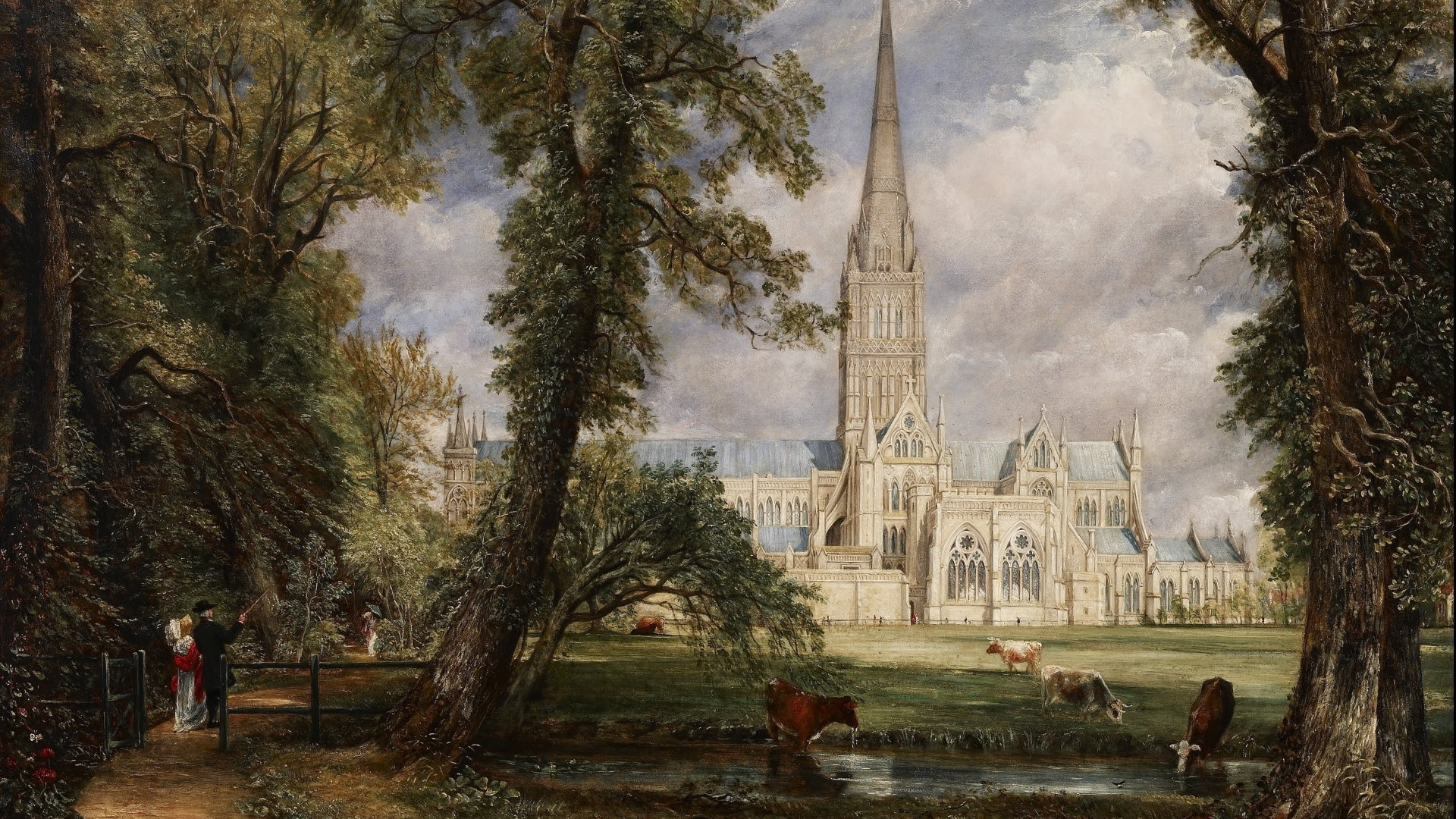 Сельская жизнь на картинах Джона Констебла