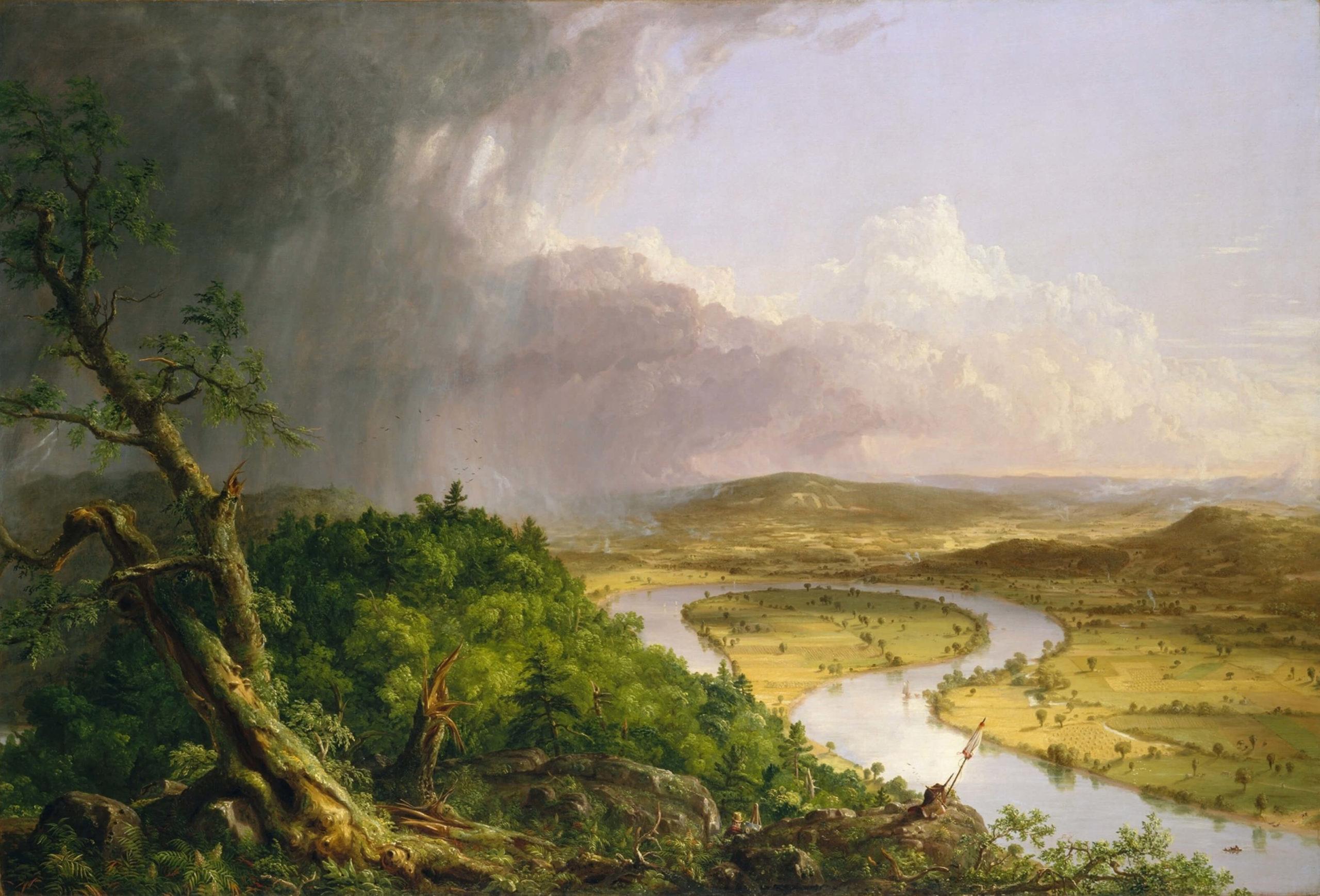 Невероятные пейзажи американского художника Томаса Коула