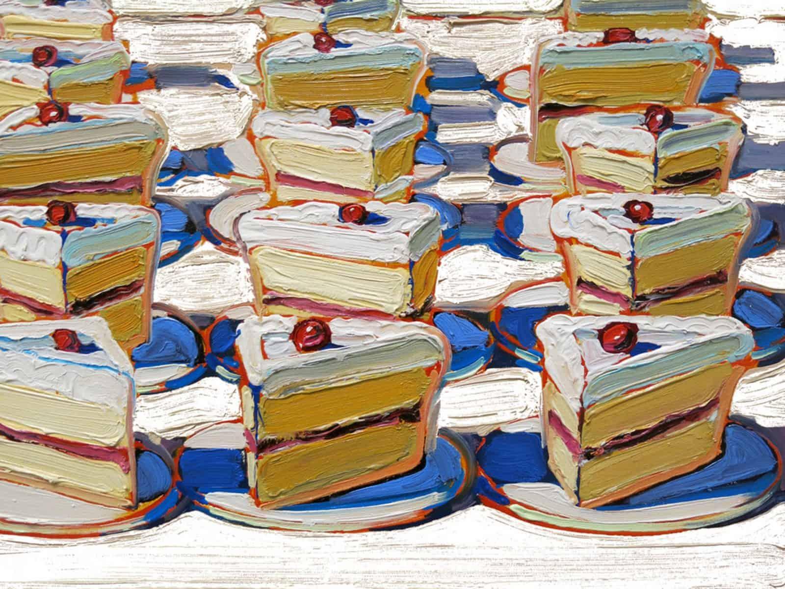 Вкусные десерты на картинах Уэйна Тибо