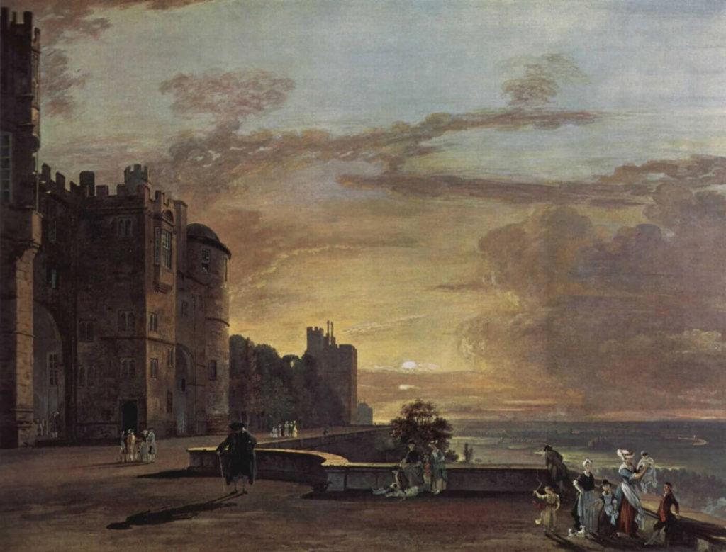 Пол Сэндби - Виндзорский замок