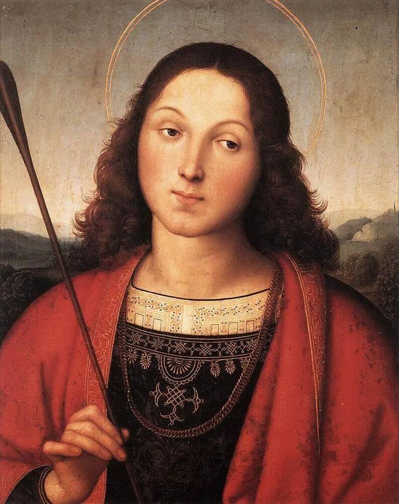 Рафаэль Санти - Святой Себастьян