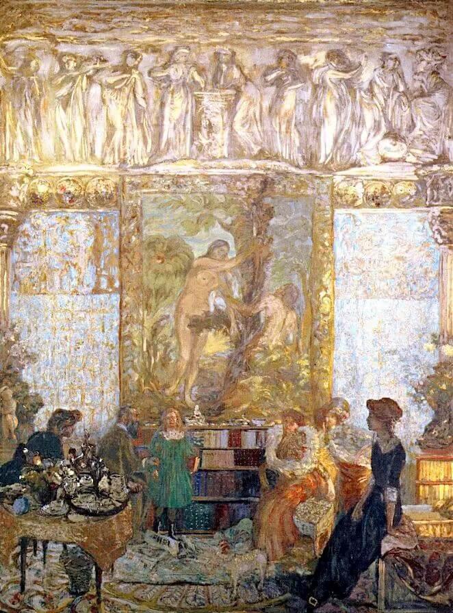 Жан Эдуар Вюйар - Библиотека
