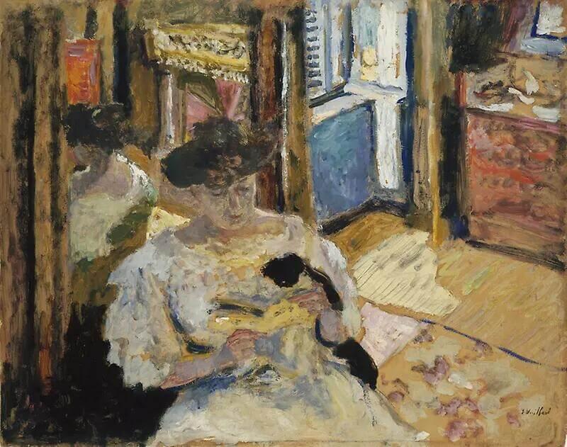 Жан Эдуар Вюйар - Мадам Хессель, читающая книгу