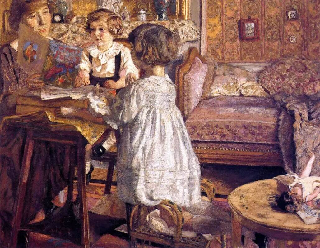 Жан Эдуар Вюйар - Мадам Вайль и ее дети