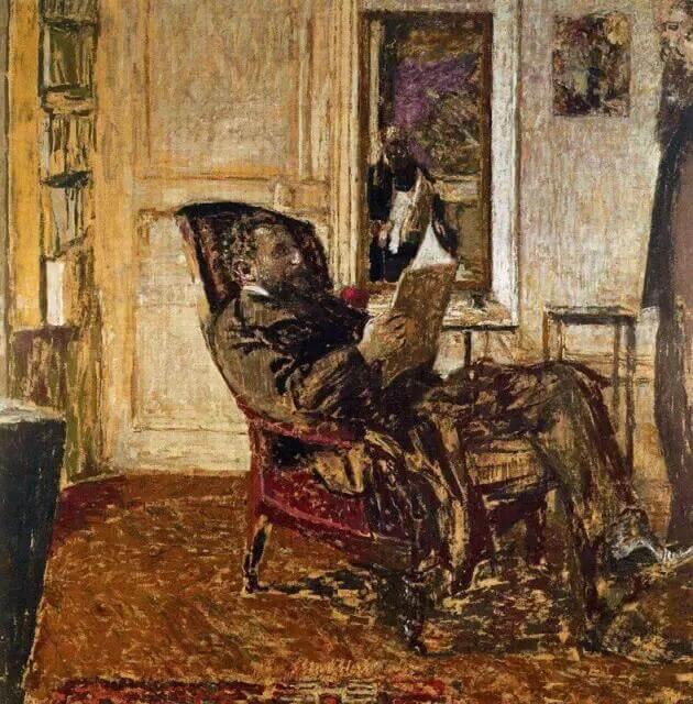 Жан Эдуар Вюйар - Портрет Тедье Натансона в кресле