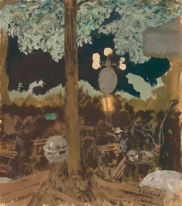 Жан Эдуар Вюйар - Вечер в саду Альказара