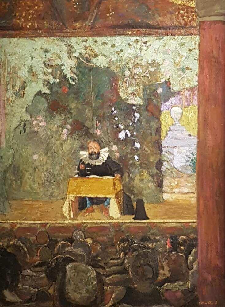 Жан Эдуар Вюйар - Выступление Тристана Бернарда